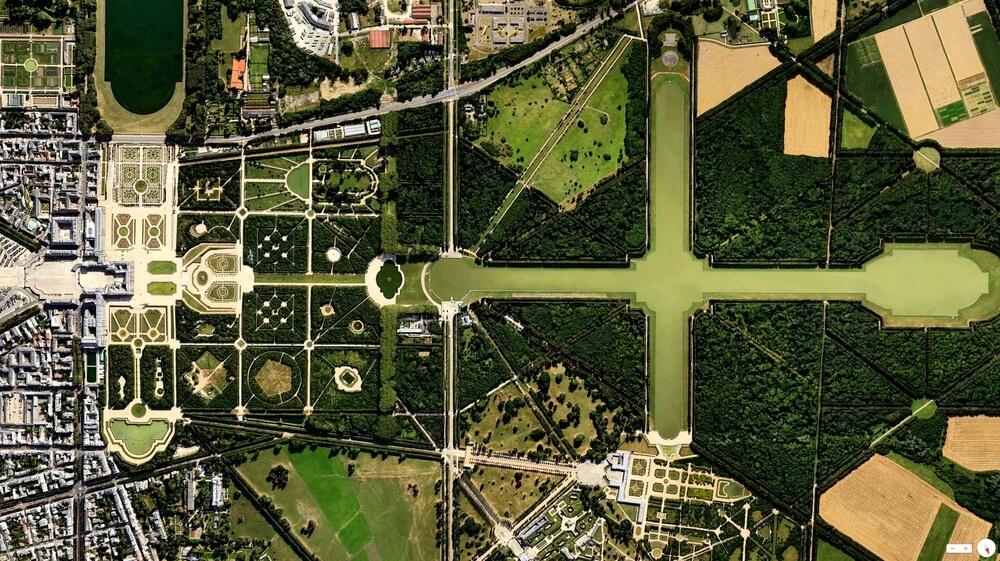 Le château et les jardins de Versailles