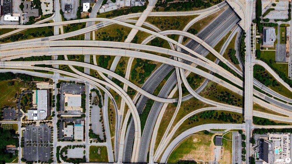 Spaghetti Junction (I-20 and I-85/I-75)
