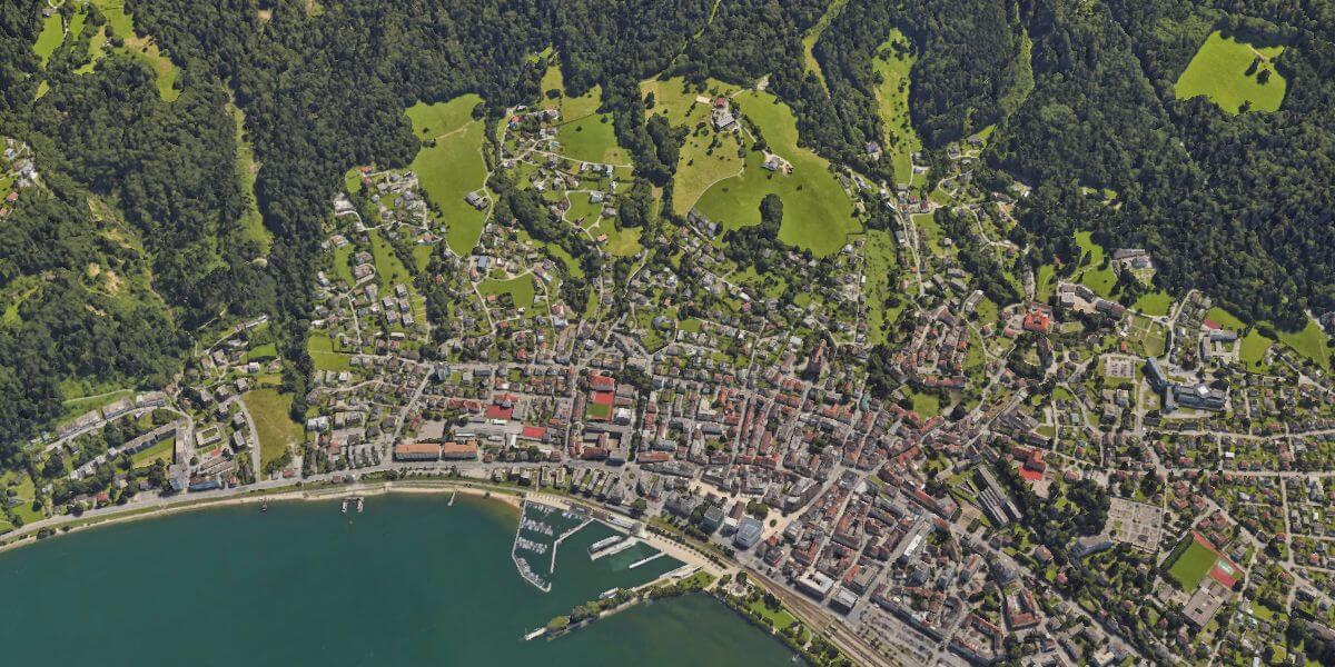 Bregenz from space