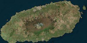 Jeju Island from space
