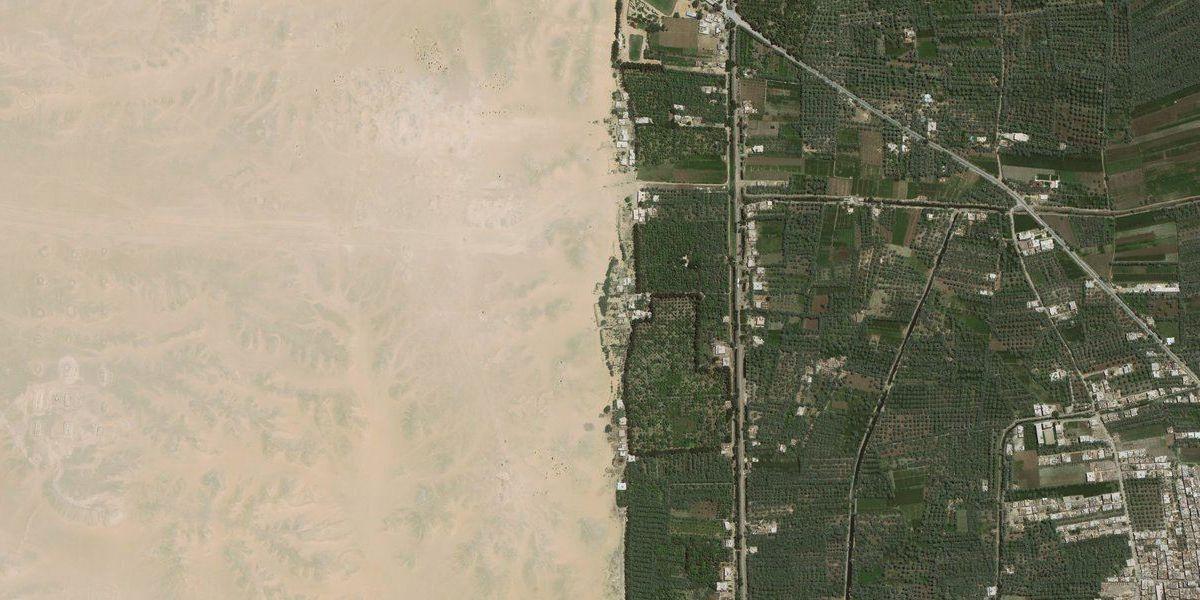Desert Border