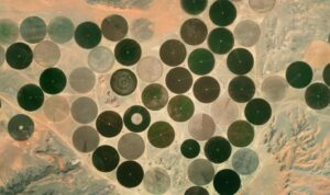 desert agriculture from space